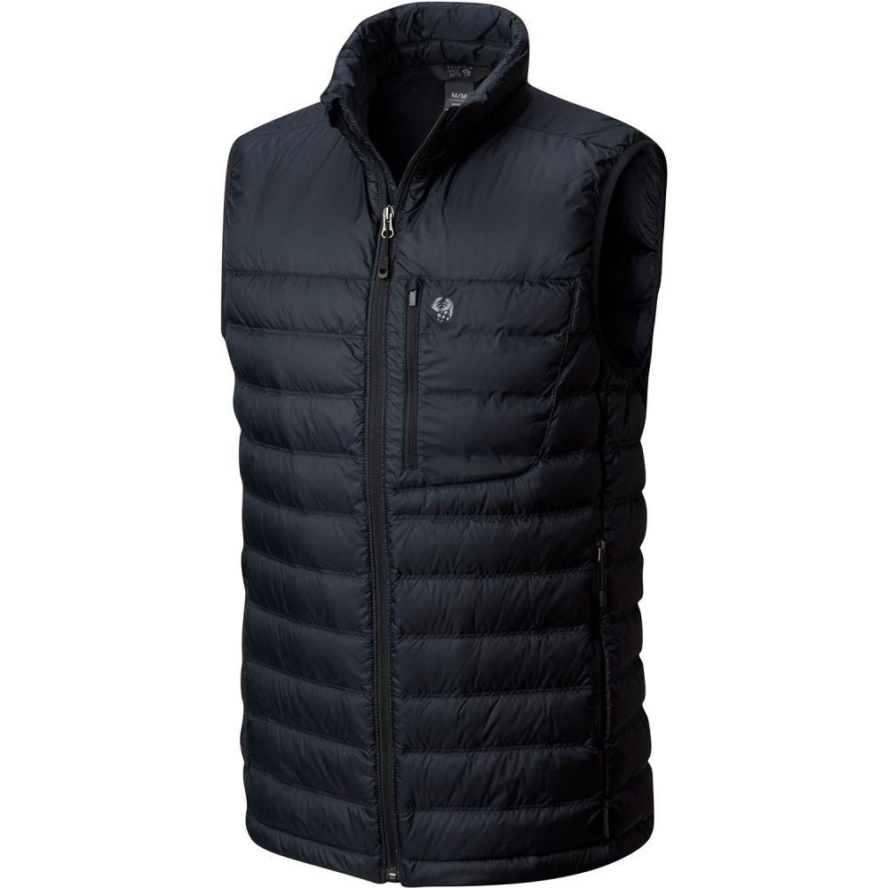 マウンテンハードウェア Mountain Hardwear メンズ スキー・スノーボード トップス【Dynotherm Down Vest】Black