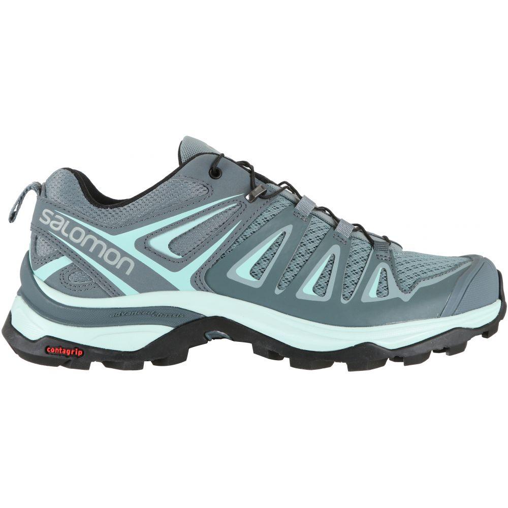 サロモン Salomon レディース ハイキング・登山 シューズ・靴【X Ultra 3 Hiking Shoes】Lead/Stormy Weather/Canal Blue