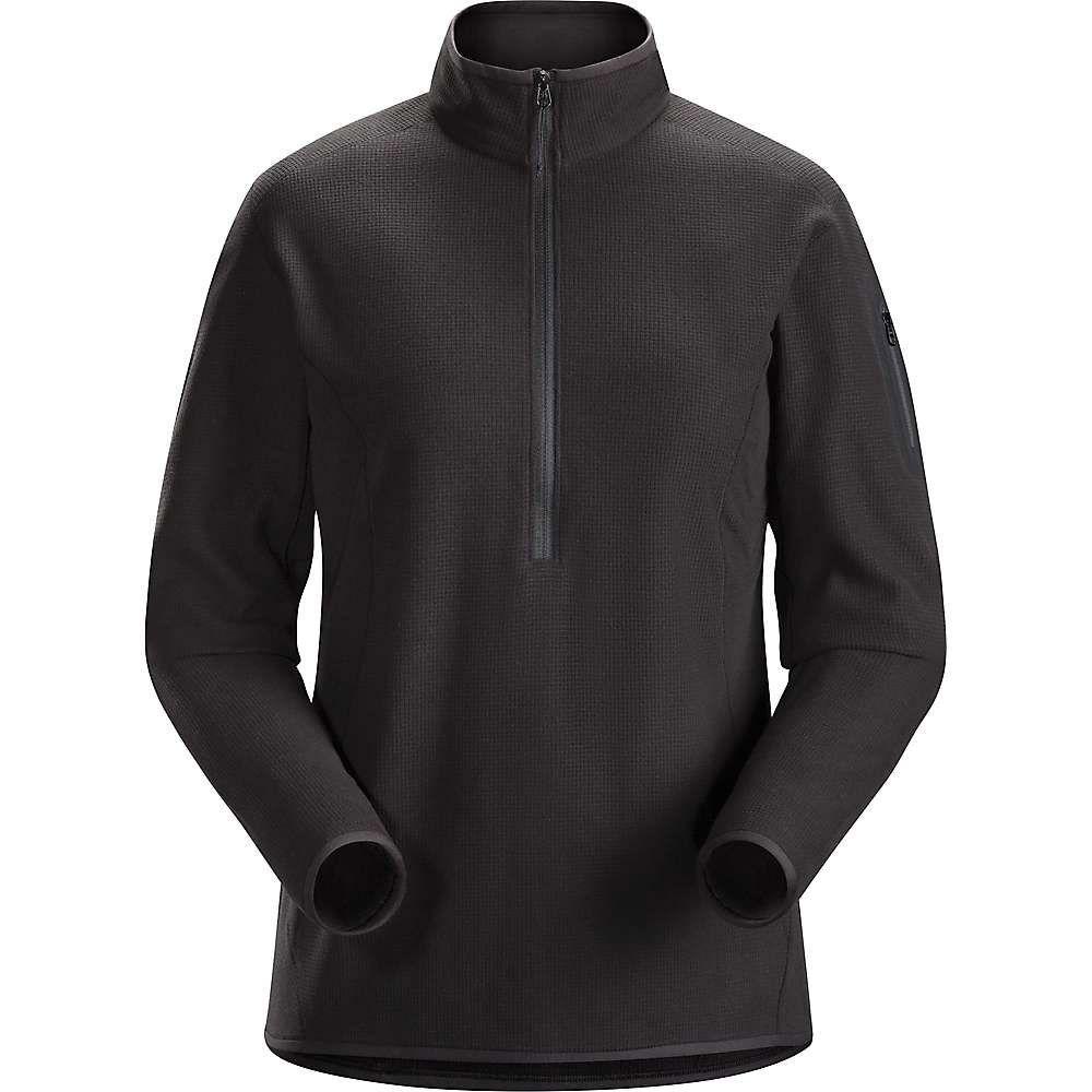 アークテリクス Arc'teryx レディース スキー・スノーボード トップス【Delta LT Zip Neck Fleece 2019】Black