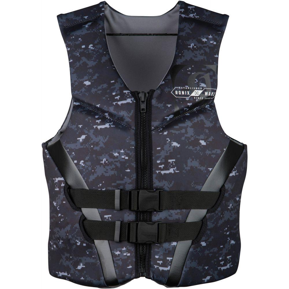 ロニックス Ronix メンズ トップス【Covert CGA Wakeboard Vest 2019】Black/White/Digi Camo