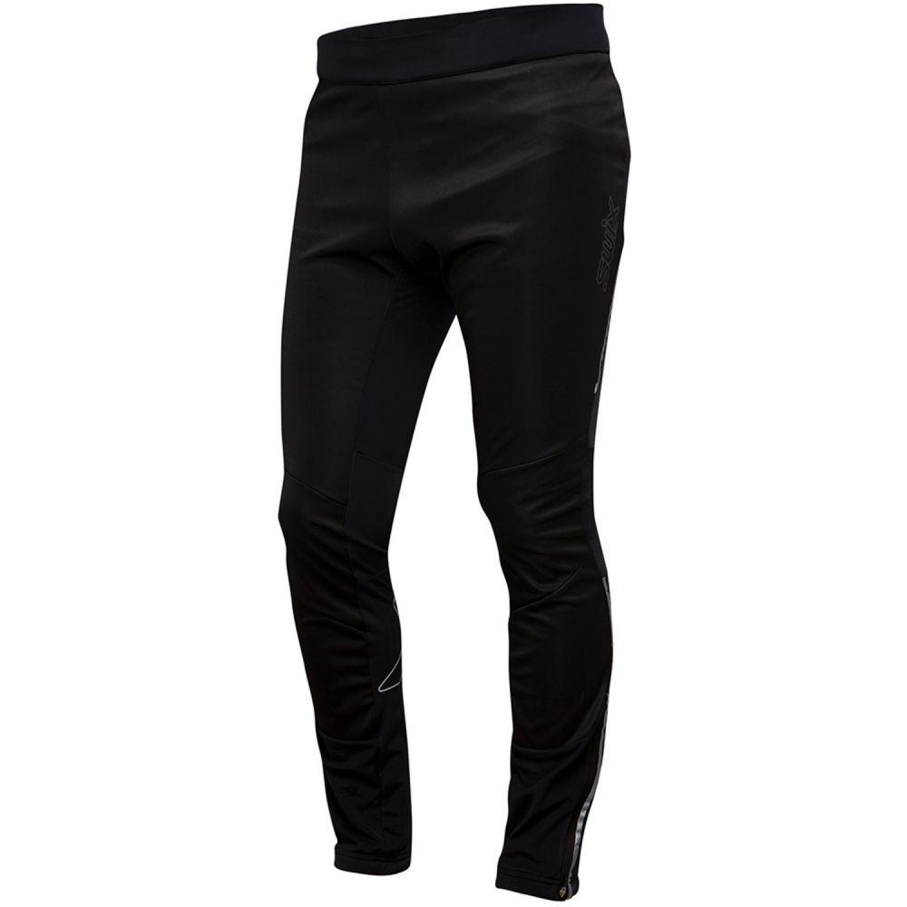 スウィックス Swix メンズ スキー・スノーボード ボトムス・パンツ【Delda Light Softshell XC Ski Pants 2019】Black