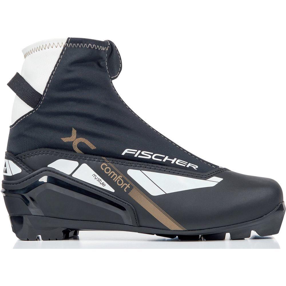 フィッシャー Fischer レディース スキー・スノーボード シューズ・靴【XC Comfort My Style XC Ski Boots 2019】Black/White