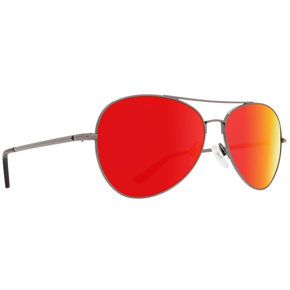 スパイ Spy メンズ メガネ・サングラス【Whistler Sunglasses】Gunmetal/Happy Grey Green Red Spectra Lens