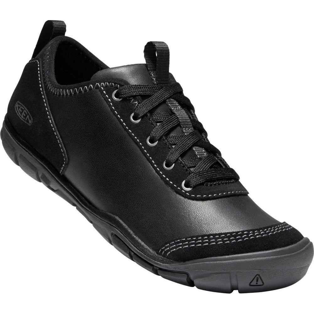 キーン Keen レディース シューズ・靴【Hush Leather Shoes】Black