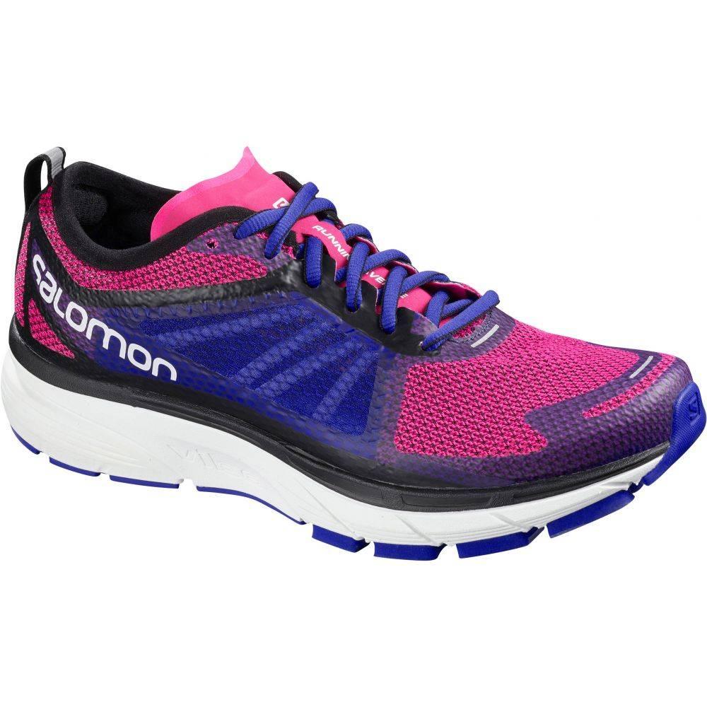 サロモン Salomon レディース ランニング・ウォーキング シューズ・靴【Sonic RA Running Shoes】Pink Yarro/Surf The Web/White
