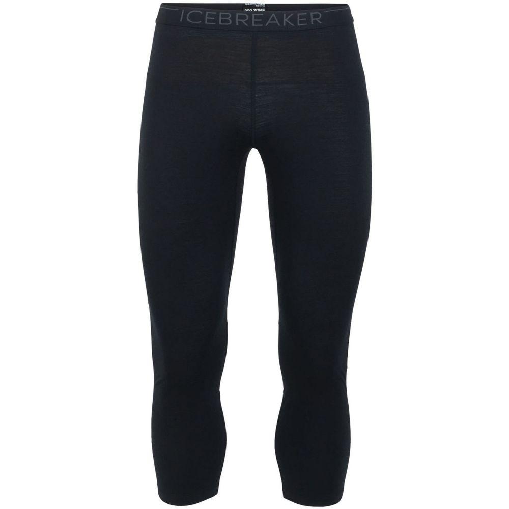 アイスブレーカー Icebreaker メンズ スキー・スノーボード ボトムス・パンツ【200 Zone Legless Baselayer Pants 2019】Black/Mineral