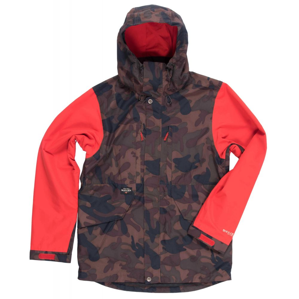 ホールデン Holden メンズ スキー・スノーボード メンズ ホールデン アウター【Highland Snowboard Snowboard Jacket】Camo/Poppy, ココルカ:32290ea0 --- sunward.msk.ru
