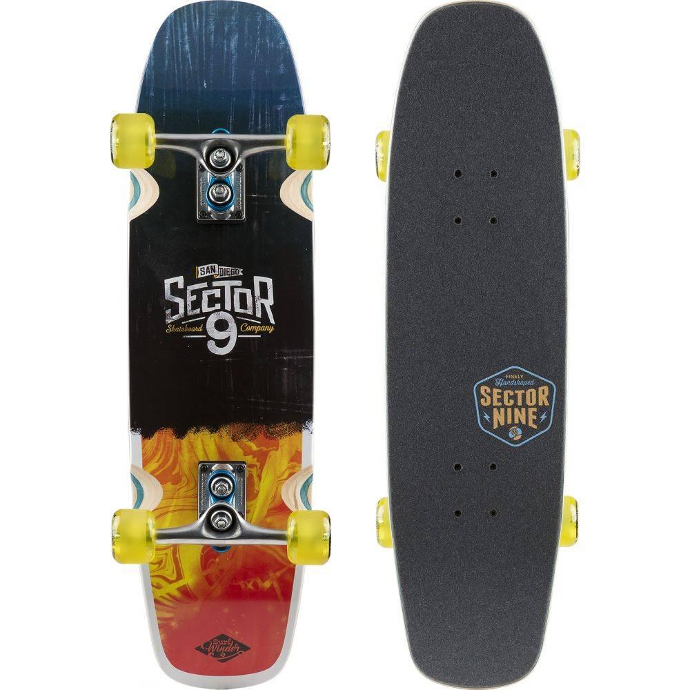 セクターナイン Sector 9 メンズ スケートボード ボード・板【Barra Soap Cruiser Complete】Red