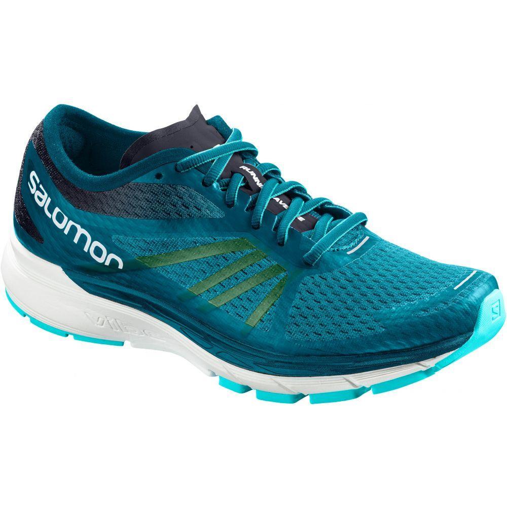 サロモン Salomon レディース ランニング・ウォーキング シューズ・靴【Sonic RA Pro Running Shoes】Deep Lagoon/Night Sky/Blue Curacao