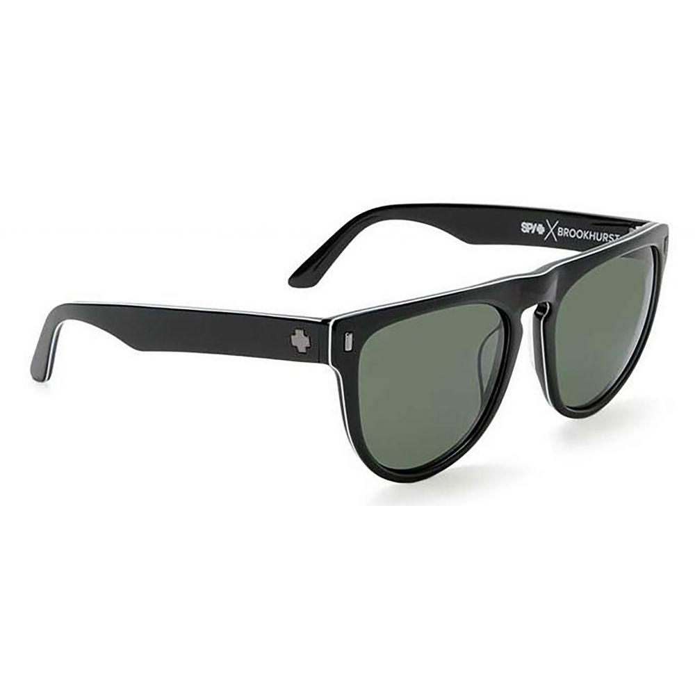 スパイ Spy メンズ メガネ・サングラス【Brookhurst Sunglasses】3-Ply Black/Grey Green Lens