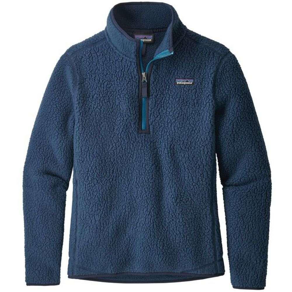 パタゴニア Patagonia レディース スキー・スノーボード トップス【Retro Pile 1/4 Zip Fleece 2019】Stone Blue
