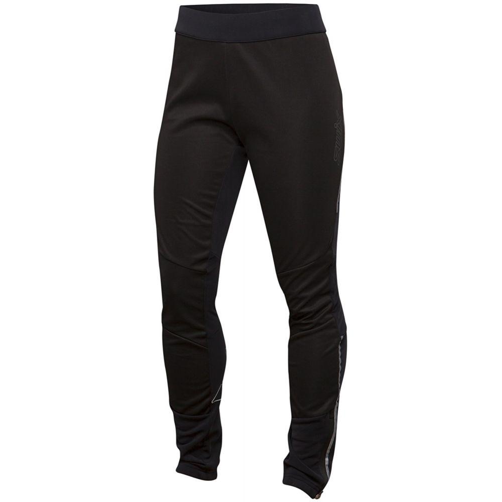 スウィックス Swix レディース スキー・スノーボード ボトムス・パンツ【Delda Light Softshell XC Ski Pants 2019】Black