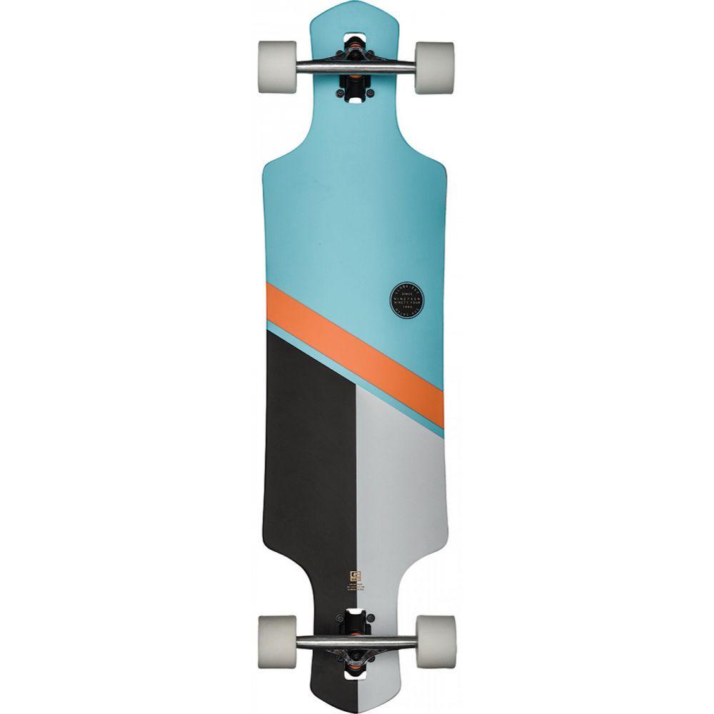 グローブ Globe メンズ スケートボード ボード・板【Geminon Longboard Complete】Sky/Orange