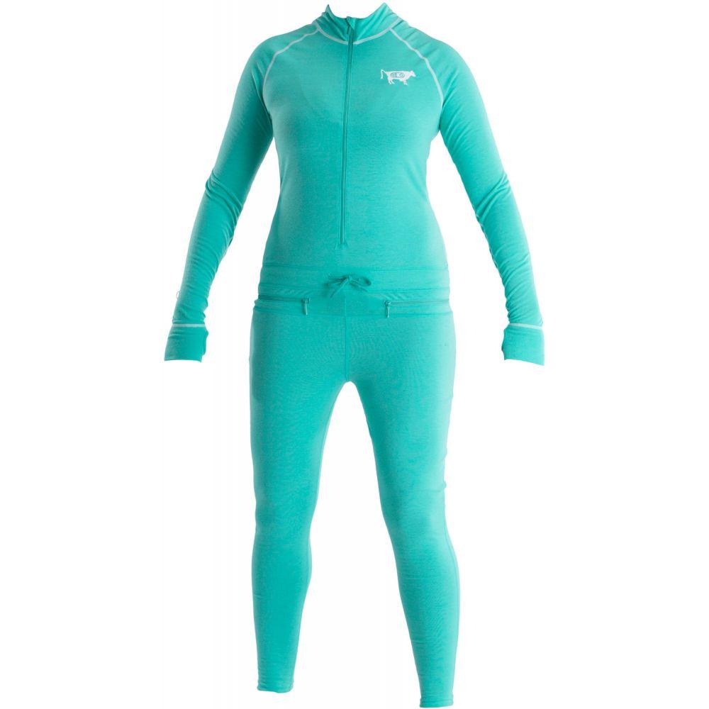 エアブラスター レディース Airblaster レディース スキー Suit・スノーボード トップス【Hoodless Ninja Ninja Suit Baselayer 2019】GNU Hot Teal, vif:b8230699 --- sunward.msk.ru