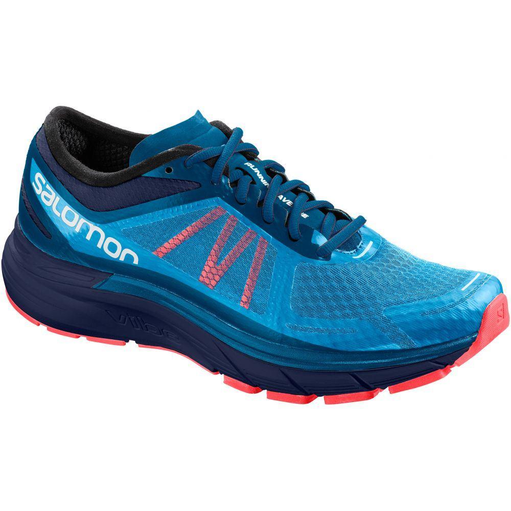 人気が高い サロモン RA Salomon Shoes】Hawaiian メンズ ランニング・ウォーキング シューズ・靴 Salomon【Sonic RA Max Running Shoes】Hawaiian Surf/Medieval Blue/Fiery Coral, アクティア:5cef0e31 --- smotri-delay.com