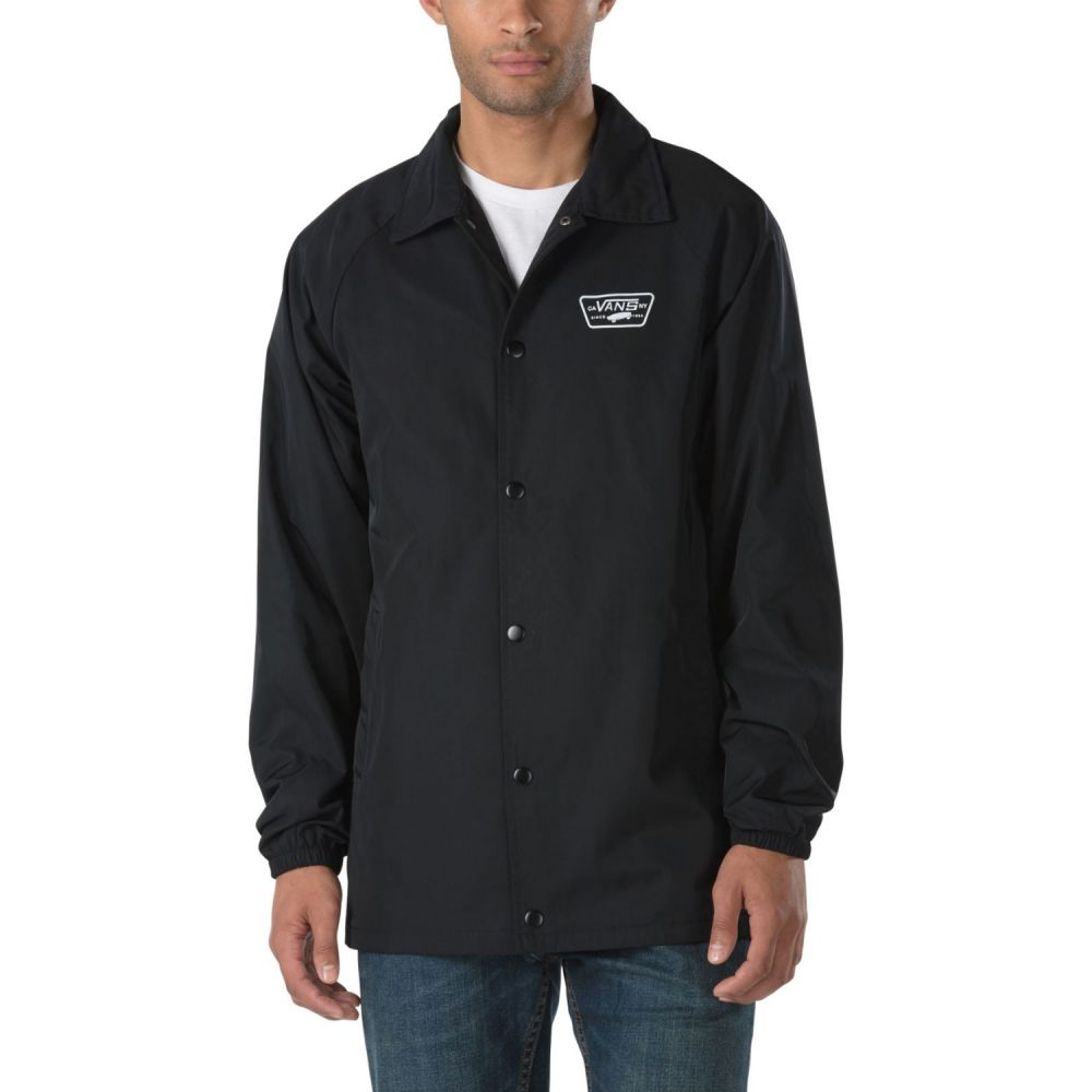 ヴァンズ Vans メンズ アウター ジャケット【Torrey Hooded MTE Jacket】Black