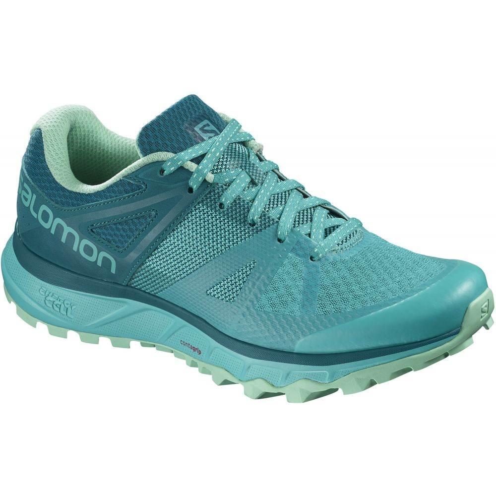 サロモン Salomon レディース ハイキング・登山 シューズ・靴【Trailster Hiking Shoes】Bluebird/Deep Lagoon/Beach Glass