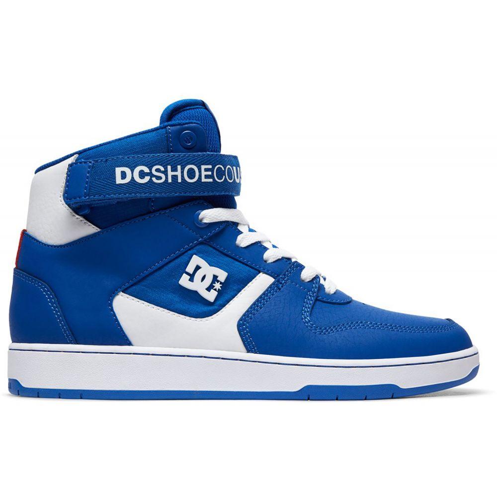 ディーシー DC メンズ スケートボード シューズ・靴【Pensford Skate Shoes】Royal/White