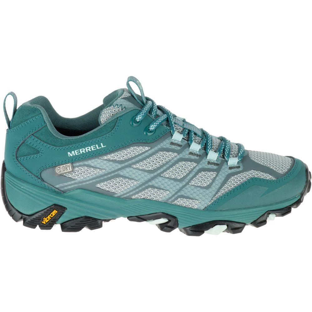 メレル Merrell レディース ハイキング・登山 シューズ・靴【Moab FST Waterproof Hiking Shoes】Sea Pine