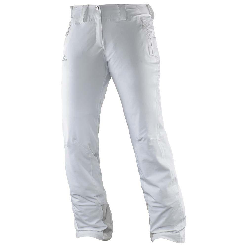 サロモン Salomon レディース スキー・スノーボード ボトムス・パンツ【Iceglory Ski Pants】White