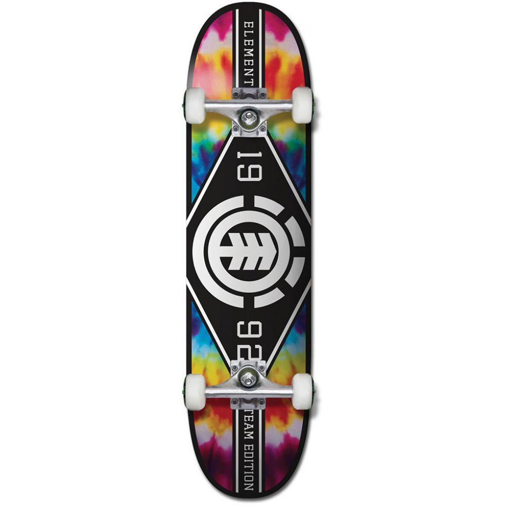 エレメント Element メンズ スケートボード ボード・板【Tie Dye Skateboard Complete】Major League