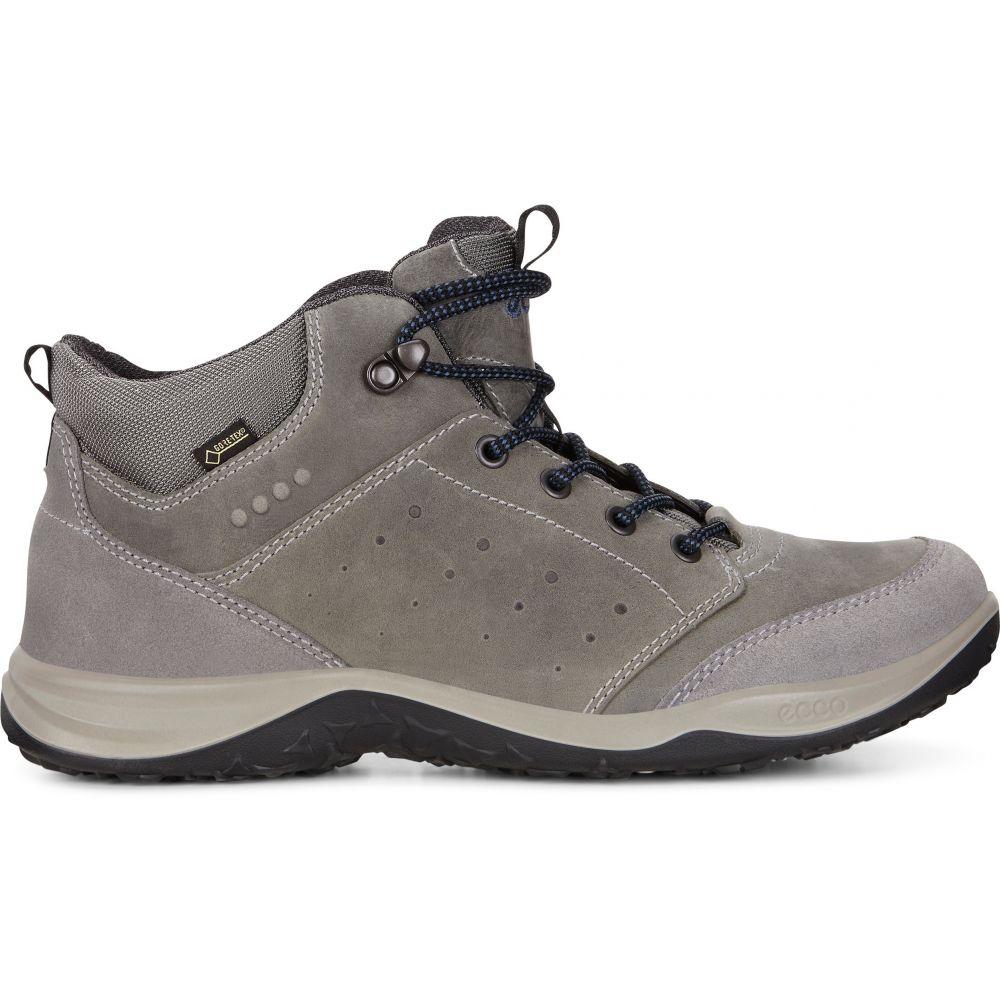 エコー ECCO メンズ ハイキング・登山 シューズ・靴【Espinho High Gore-Tex Hiking Boots】Titanium/Dark Shadow