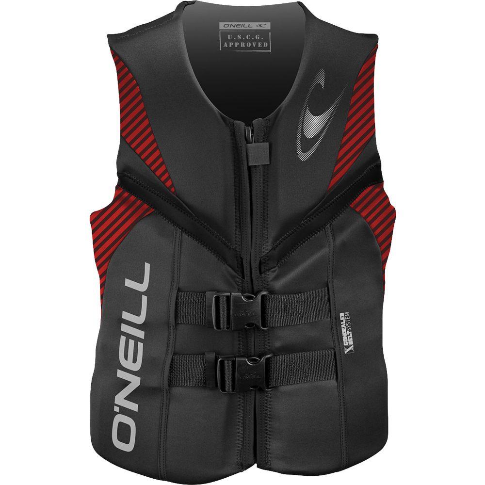 オニール O'Neill メンズ トップス【Reactor USCG Wakeboard Vest 2019】Graphite/Red/Black