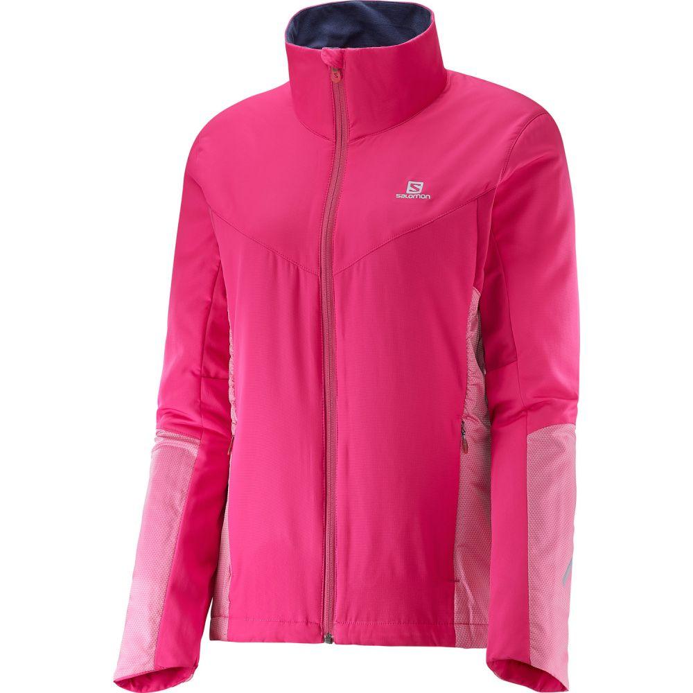 サロモン Salomon レディース スキー・スノーボード アウター【Escape XC Ski Jacket】Yarrow Pink/Gaura Pink