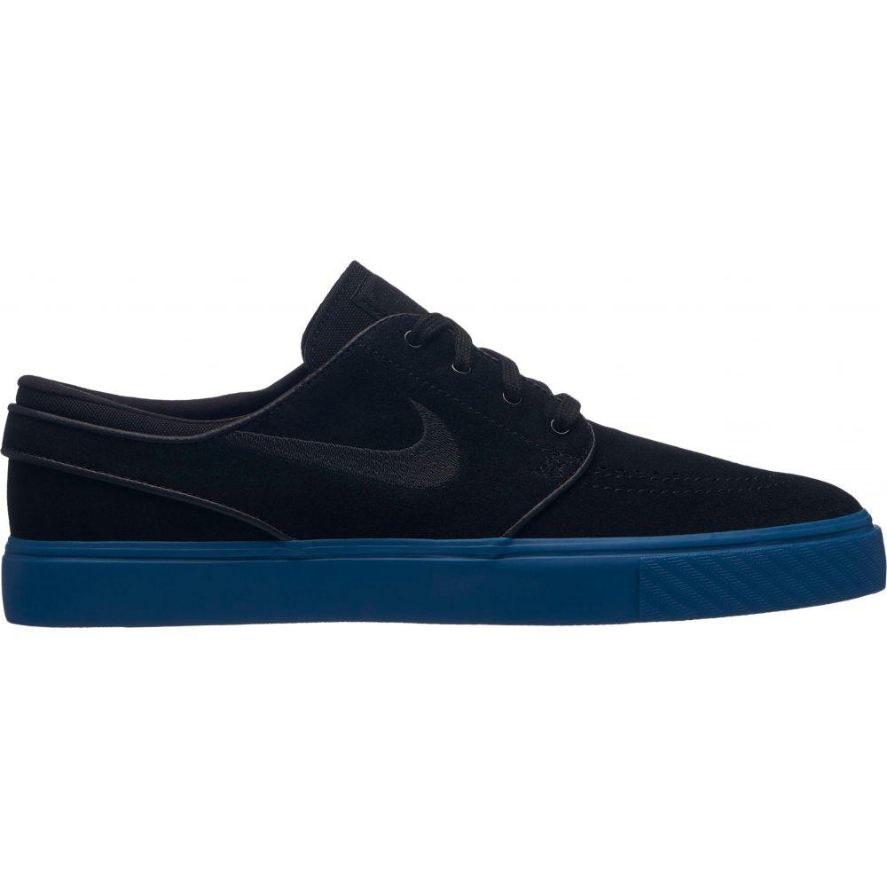 ナイキ Nike メンズ スケートボード シューズ・靴【SB Zoom Stefan Janoski Skate Shoes】Black/Black/Blue Force
