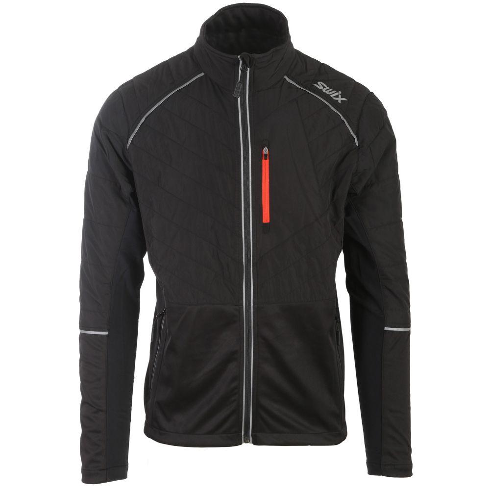 スウィックス Swix メンズ スキー・スノーボード アウター【Keltten Hybrid XC Ski Jacket】Black