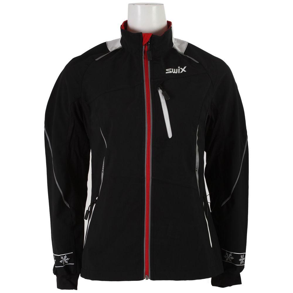 スウィックス Swix レディース スキー・スノーボード アウター【Delda Light Softshell XC Ski Jacket】Black