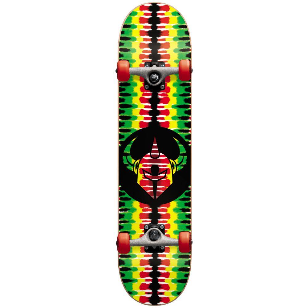 ダークスター Darkstar メンズ スケートボード ボード・板【Badge Soft Wheels Skateboard Complete】Rasta