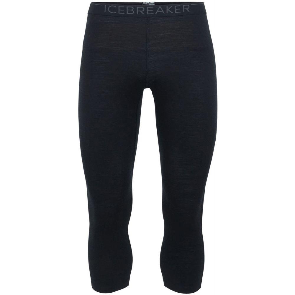 アイスブレーカー Icebreaker メンズ スキー・スノーボード ボトムス・パンツ【200 Oasis Legless Baselayer Pants 2019】Black/Monsoon