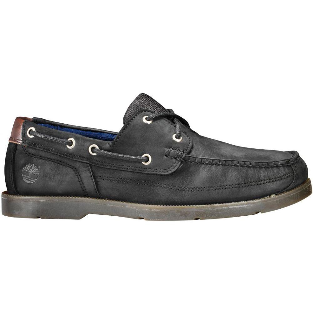 ティンバーランド Timberland メンズ シューズ・靴 デッキシューズ【Piper Cove Boat Shoes】Black Nubuck