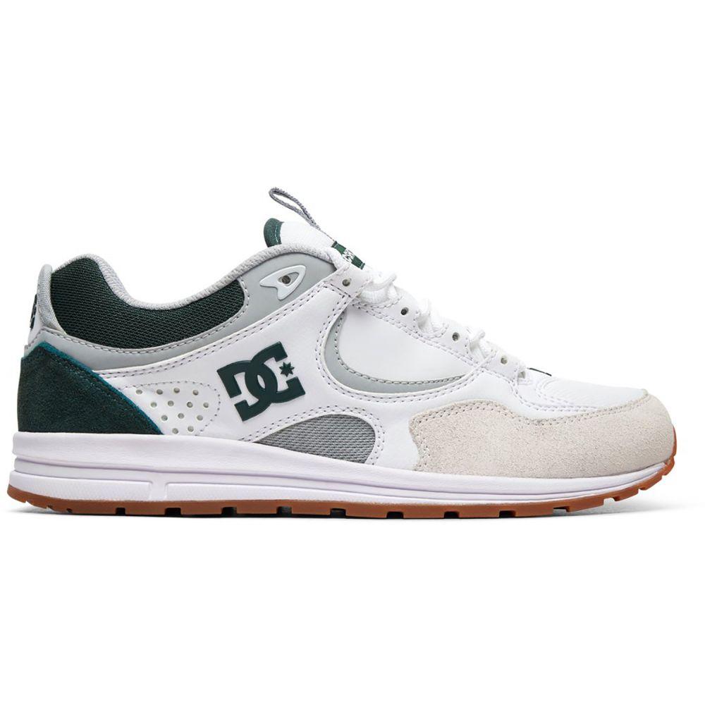 ディーシー DC メンズ シューズ・靴 スニーカー【Kalis Lite Shoes】White/Grey/Green