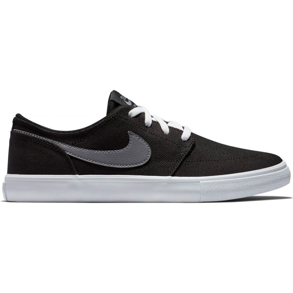 ナイキ Nike レディース スケートボード シューズ・靴【SB Portmore II Solarsoft Skate Shoes】Black/Gunsmoke/White