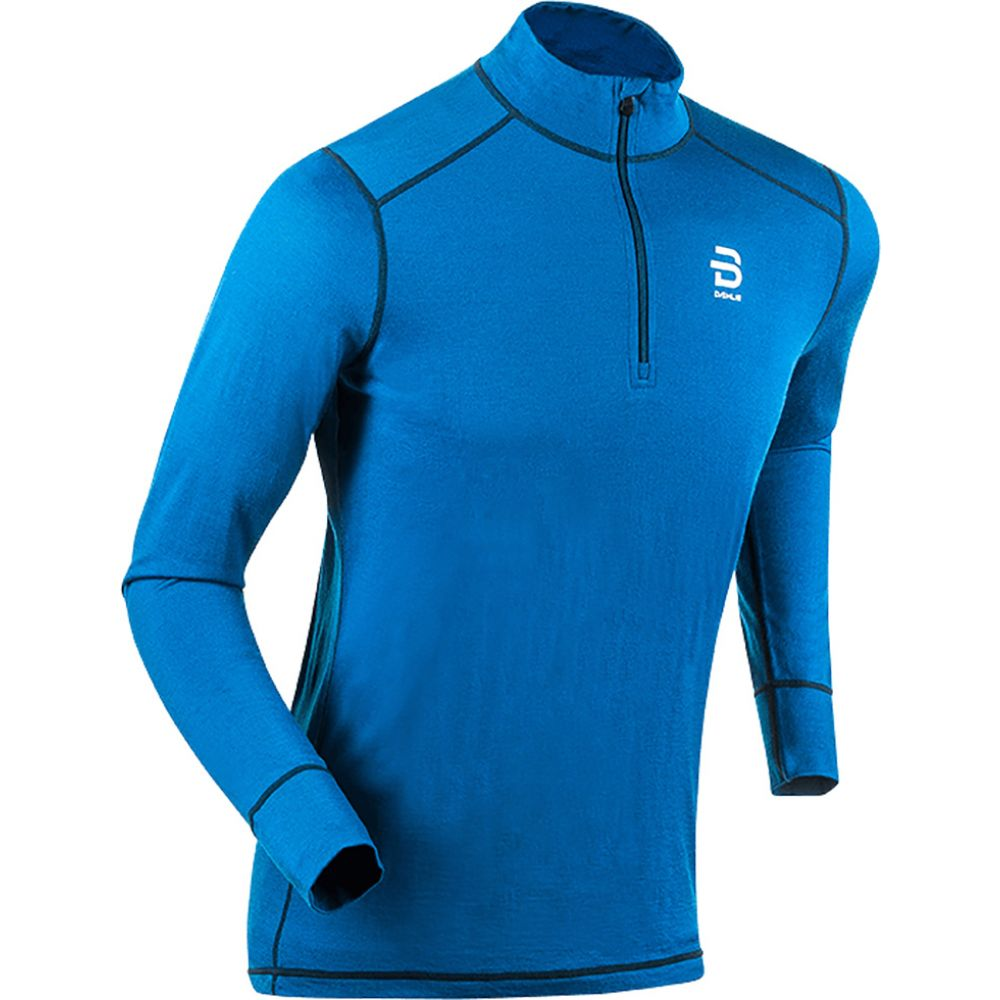 ビョルン ダーリ Bjorn Daehlie Baselayer メンズ Top】Blue/Black スキー・スノーボード Bjorn トップス【Half Zip TrainingWool Baselayer Top】Blue/Black, アジアン雑貨&家具 ES-STYLE:a220496f --- sunward.msk.ru