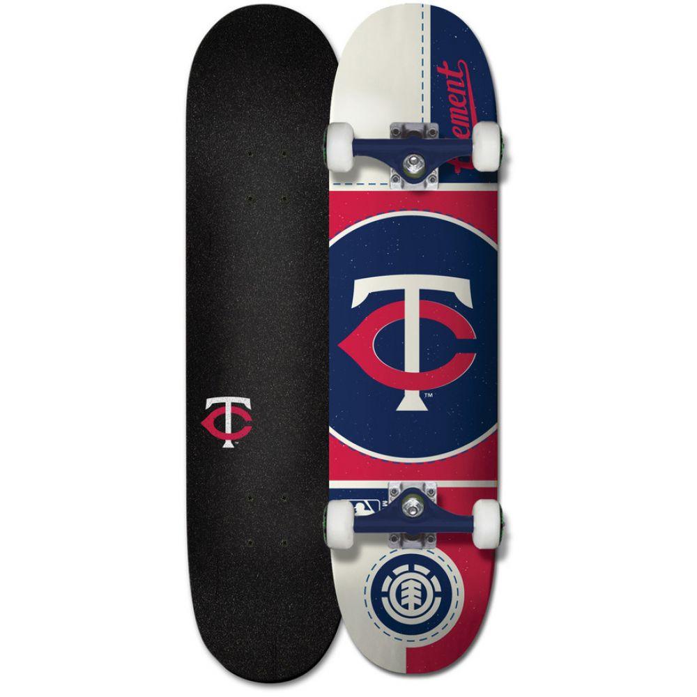 エレメント Element メンズ スケートボード ボード・板【MLB Twins Skateboard Complete】