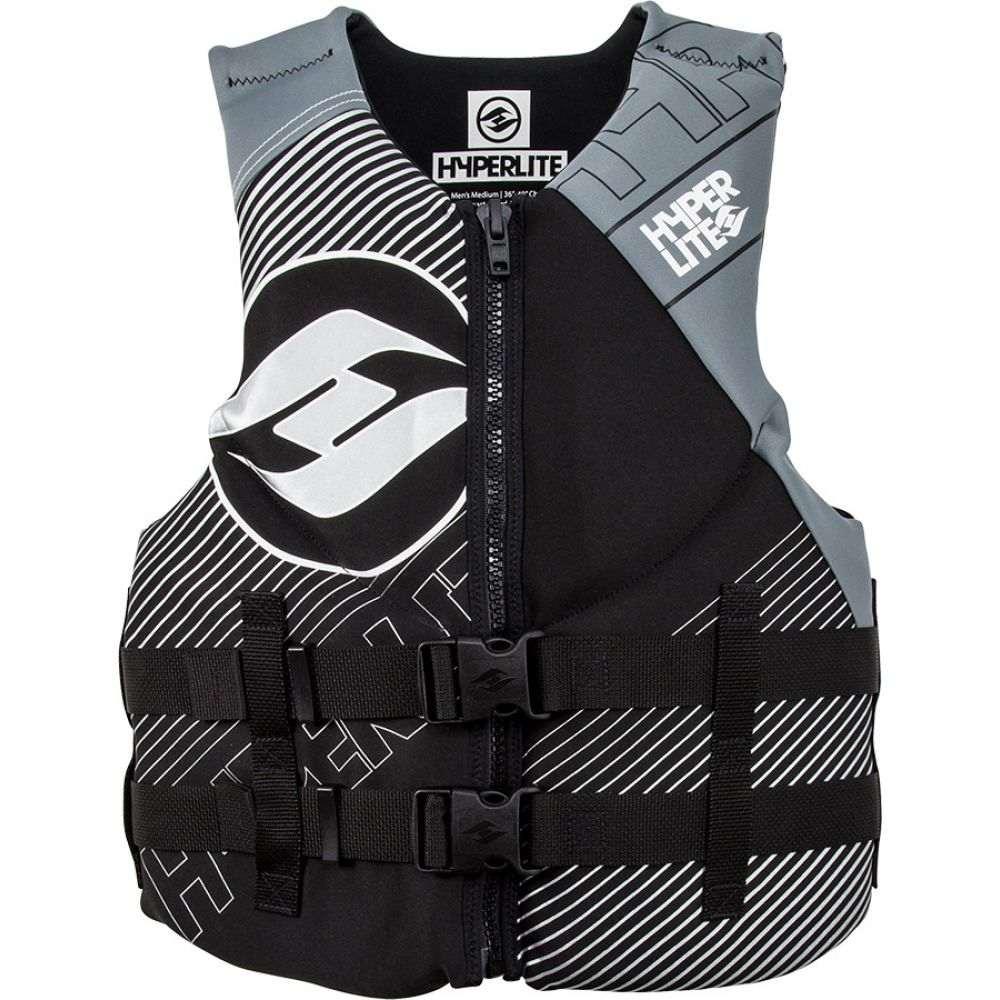 ハイパーライト Hyperlite メンズ トップス【Indy CGA Wakeboard Vest 2019】Black/Grey