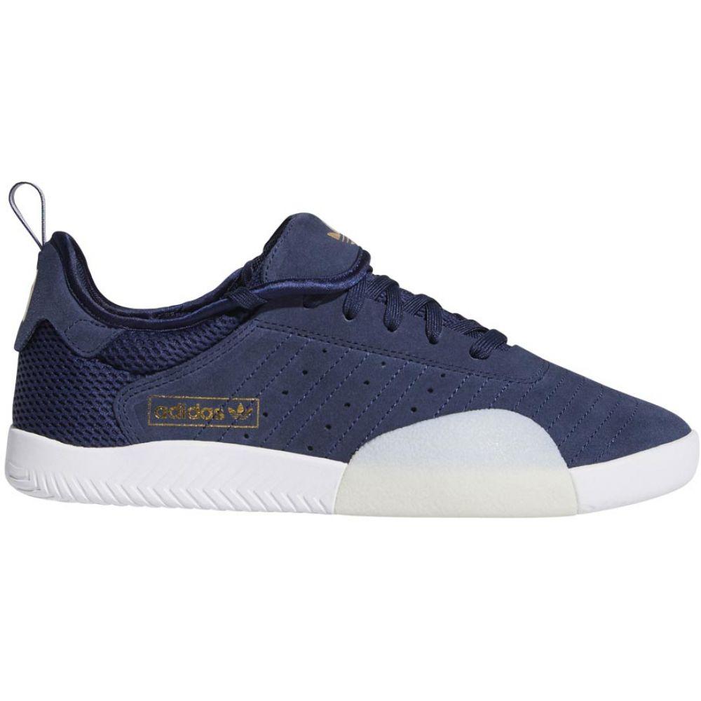 アディダス Adidas メンズ スケートボード シューズ・靴【3ST.003 Skate Shoes】Collegiate Navy/Footwear White/Gum 4
