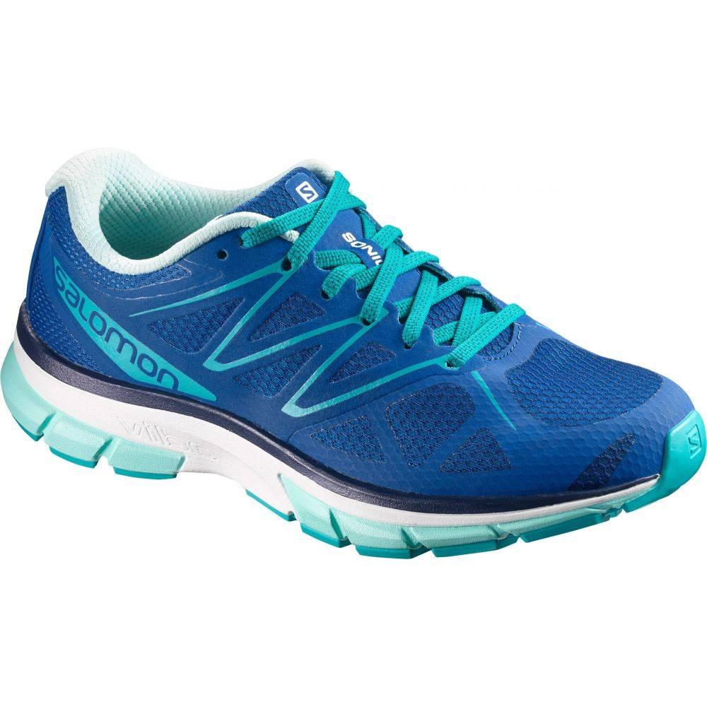 サロモン Salomon レディース シューズ・靴 スニーカー【Sonic Shoes】Nautical Blue/White/Aruba Blue