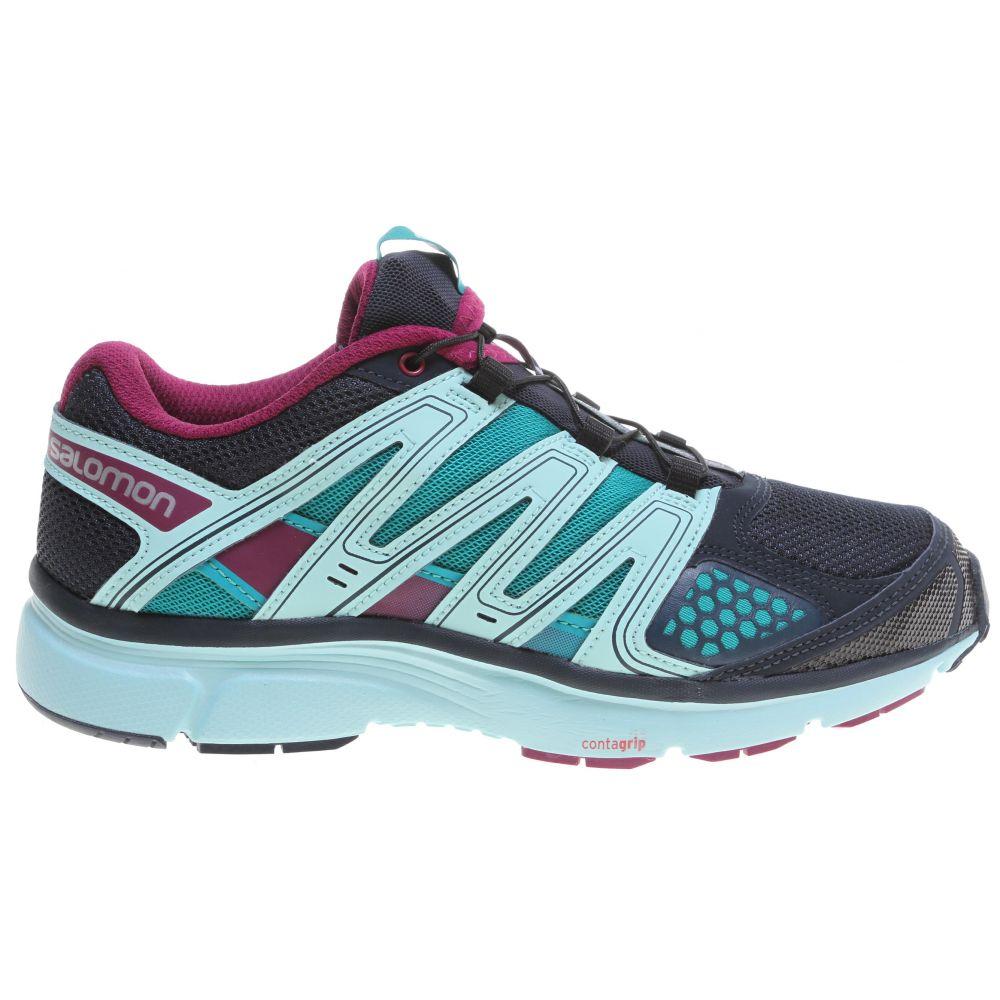サロモン Salomon レディース ランニング・ウォーキング シューズ・靴【X-Mission 2 Trail Running Shoes】Deep Blue/Igloo Blue/Mystic Purple