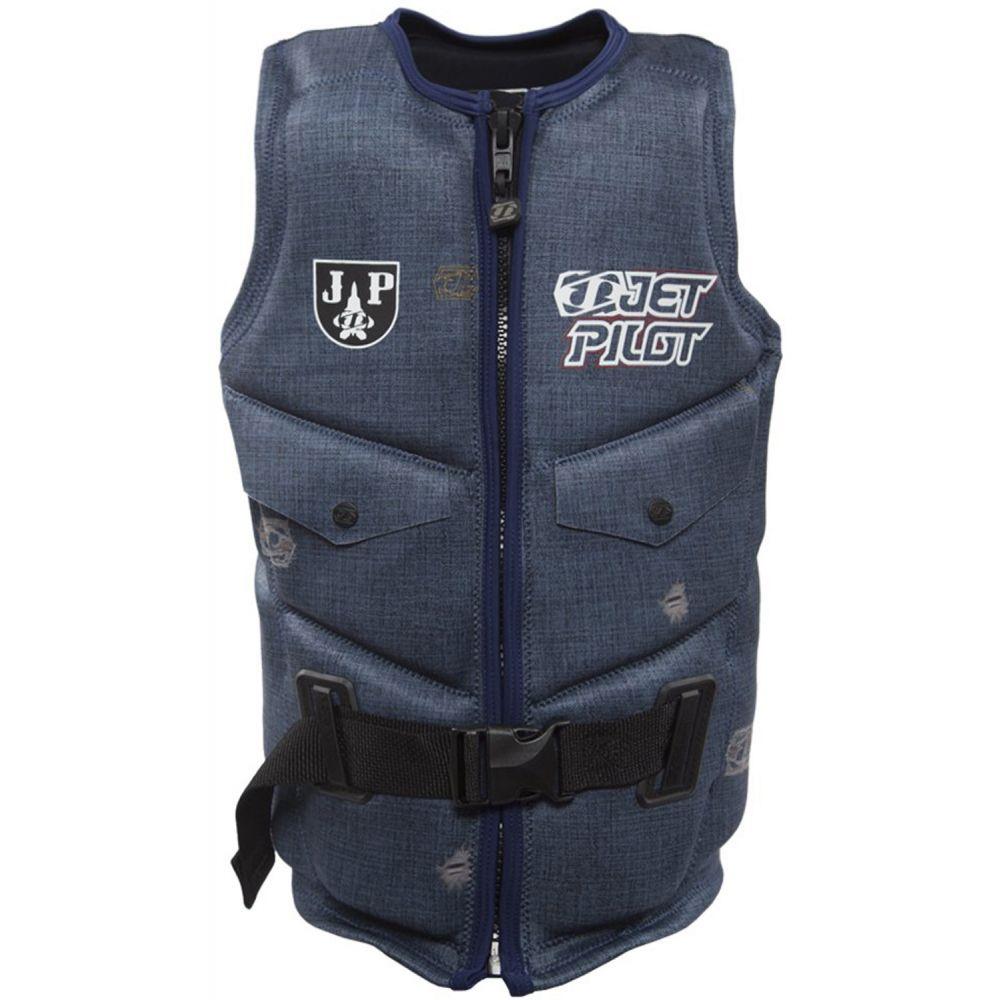 ジェットパイロット Jet Pilot メンズ トップス【Shane Bonifay Comp NCGA Wakeboard Vest】Blue