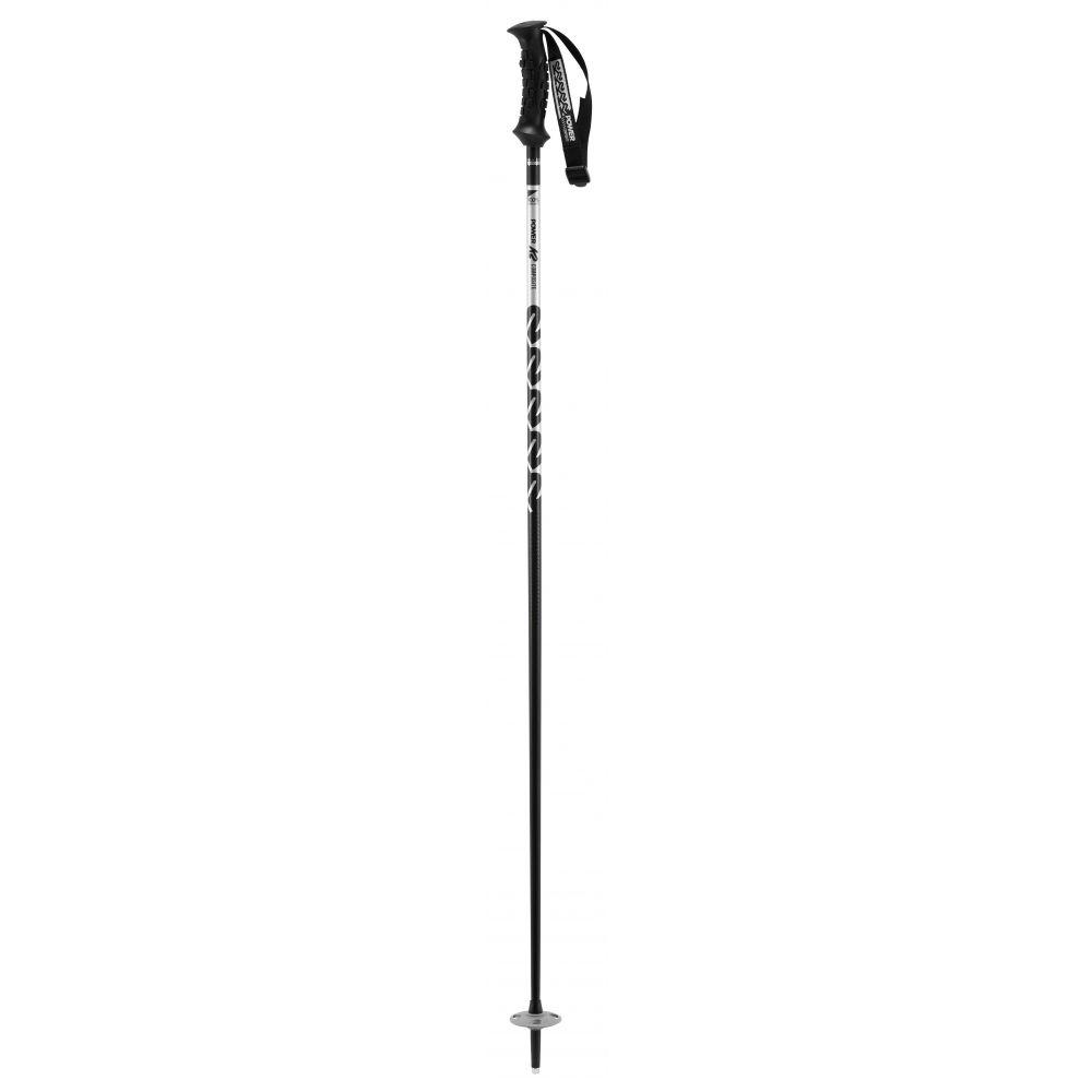 ケーツー K2 メンズ スキー・スノーボード【Power Composite Ski Poles 2019】Silver