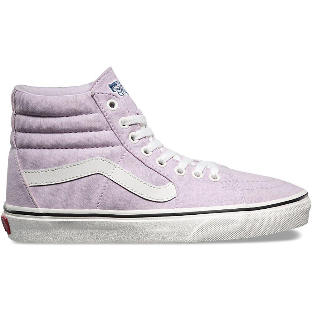 ヴァンズ Vans レディース シューズ・靴 スニーカー【Sk8-Hi Shoes】(Jersey) Lavender Fog/Snow White