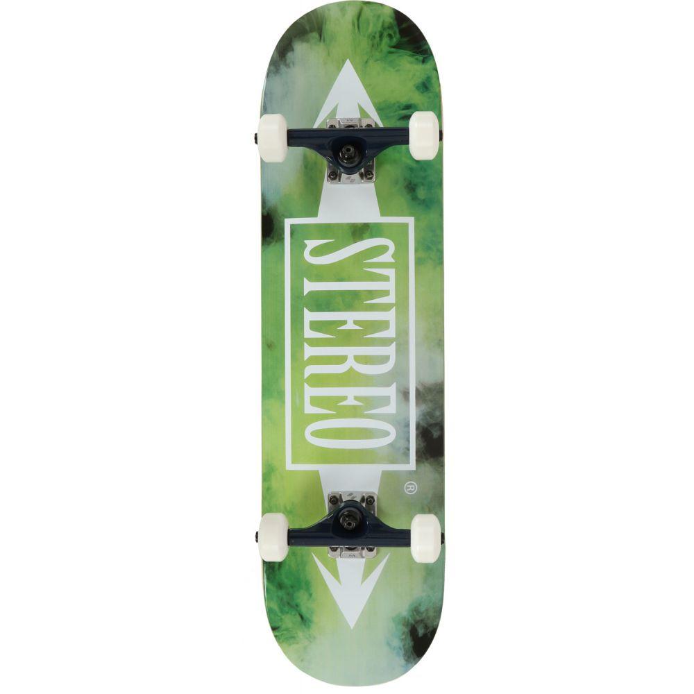 ステレオ Stereo メンズ スケートボード ボード・板【Smokey Skateboard Complete】Green