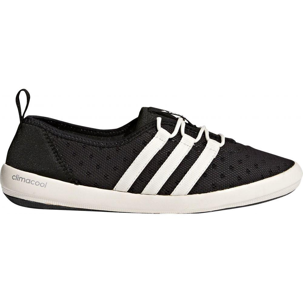 アディダス Adidas レディース シューズ・靴 ウォーターシューズ【Terrex Climacool Boat Sleek Water Shoes】Black/Chalk White/Matte Silver