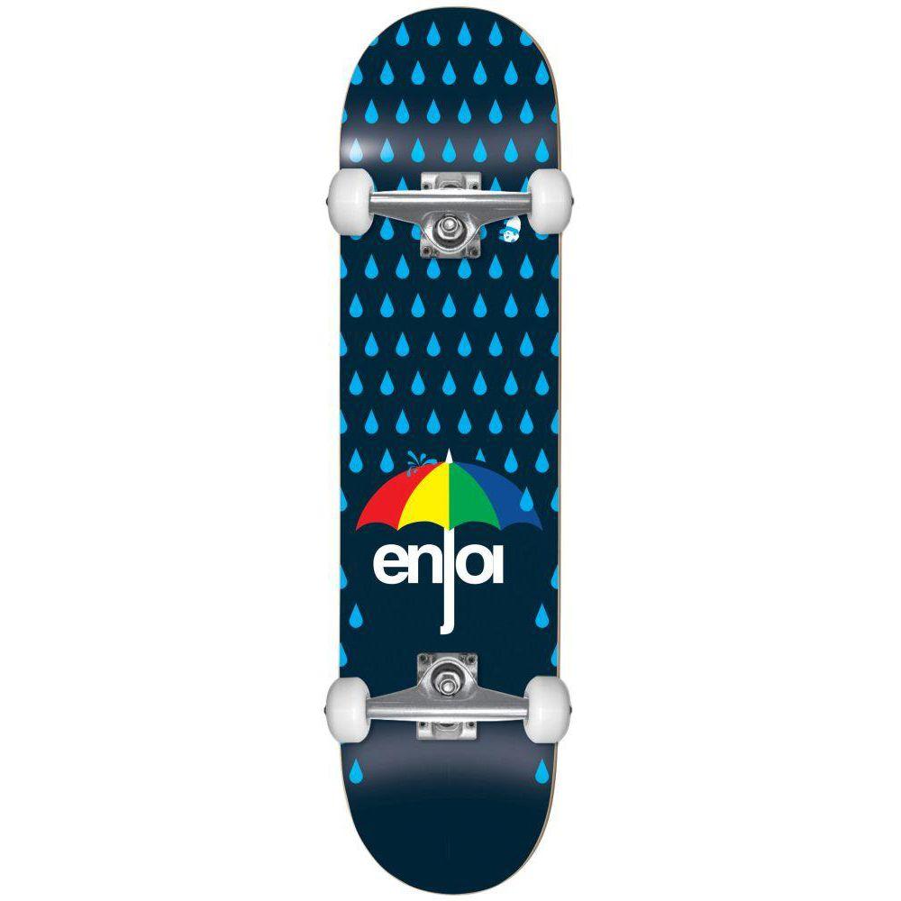 エンジョイ Enjoi メンズ スケートボード ボード・板【Raining Panda Skateboard Complete】Dark Blue