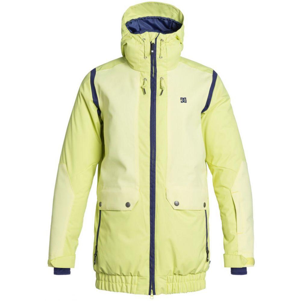 ディーシー DC レディース スキー・スノーボード アウター【Riji Snowboard Jacket】Sunny Lime