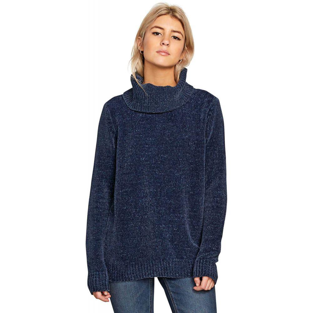 ボルコム Volcom レディース トップス ニット・セーター【Cozy On Sweater】Sea Navy